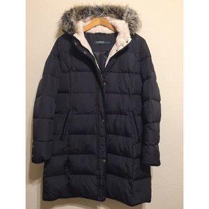 8b172d50c98 Lauren Ralph Lauren Jackets & Coats - Reduced! Ralph Lauren Faux Fur Trim  Quilted Puffer